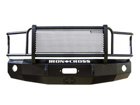 IRON CROSS 24-525-03 FRONT BUMPER FULL GRILL GUARD (03-06 SILVERADO HD)