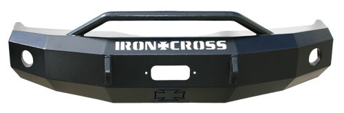 IRON CROSS 22-525-07 FRONT BUMPER W/ BAR (07-10 SILVERADO HD)
