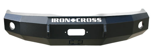 IRON CROSS 20-525-11 FRONT BASE BUMPER (11-14 CHEVY HD 2500/3500)