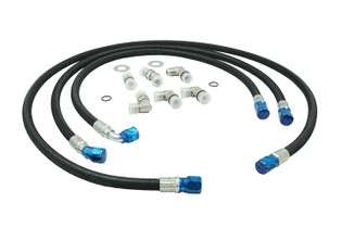 DEVIANT 73410 TRANSMISSION COOLER REPAIR LINES (2006-2010 GM DURAMAX EQUIPPED PICKUPS)