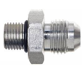 CPP -4 JIC TO M12 O-RING TURBO OIL FEED FITTING