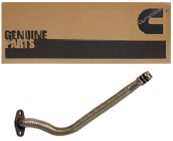 "CUMMINS 3934084 FLEXIBLE TURBO OIL DRAIN 21"" LONG"