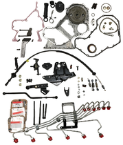 SCHEID DIESEL P7100 CONVERSION KIT W/MILD STEEL FUEL LINES