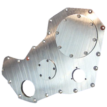 SCHEID DIESEL BILLET FRONT COVER ***FITS SCHEID GEAR HOUSING ONLY***(94-02 CUMMINS)