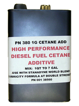 SCHEID DIESEL, 3801 G CETANE ADD -FUEL ADDITIVE