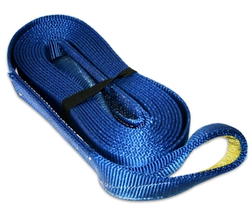 "BULLDOG WINCH 20029 Recovery Strap 2"" x 20 ft, 20,000lb BS polyester"