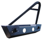 ACE ENGINEERING STUBBY FRONT BUMPER W/STINGER AND FOG LIGHT PROVISION BLACK - JK
