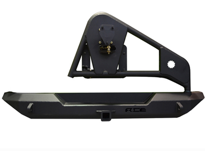 ACE ENGINEERING PRO SERIES REAR BUMPER W/TIRE CARRIER AND HITCH BLACK - JK