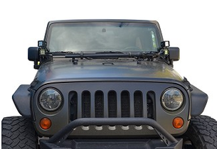ACE ENGINEERING JK A-Pillar Double Light Mount