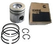 CUMMINS 3800785 STANDARD OUTPUT OEM PISTON KIT .040 OVER BORE (98.5-02 CUMMINS)