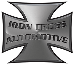 "IRON CROSS 3"" Tube Step, Black Cab Length (15 GM CREW CAB)"