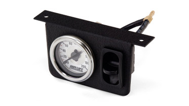 AIR LIFT PERFORMANCE 26161 SINGLE NEEDLE GAUGE PANEL W/ONE PADDLE SWITCH -200 PSI