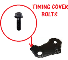 CPP TIMING COVER BOLT KIT **TIN COVER**(03-18 CUMMINS)