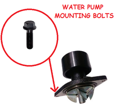 CPP WATER PUMP MOUNTING BOLTS (89-18 CUMMINS)