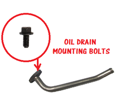 CPP TURBO OIL DRAIN MOUNTING BOLT SET-(89-18 CUMMINS)