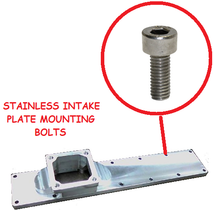 CPP INTAKE PLATE MOUNTING BOLTS STAINLESS (89-18 CUMMINS)