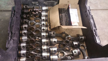 STOCK RODS AND PISTONS