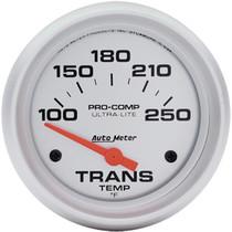 "AUTOMETER 4457 2-5/8"" TRANS TEMP, 100- 250`F SSE (UNIVERSAL)"