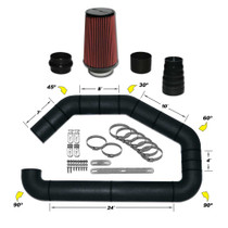 CPP CONVERSION UNIVERSAL INTAKE KIT (CUT TO FIT)