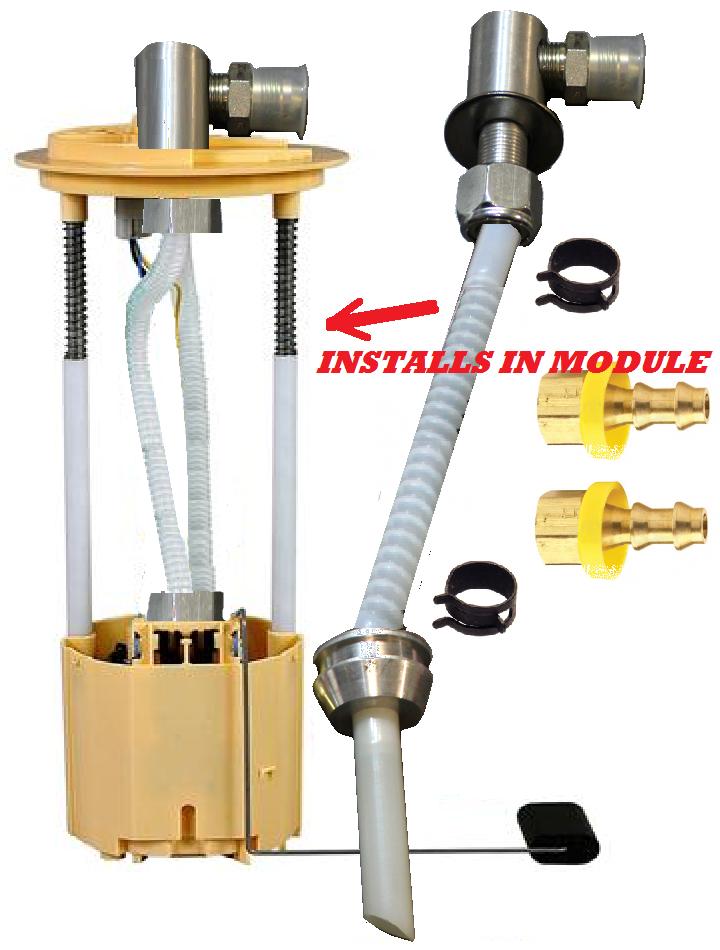 "FASS 5//8/"" Suction Tube Draw Straw Kit"