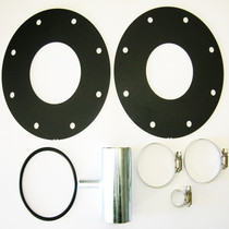 TITAN FUEL TANKS 0199003 2001-2004 GM 2500 & 3500 KIT Includes two heavy gauge metal flanges and one O-ring LB7 Adaption KIT