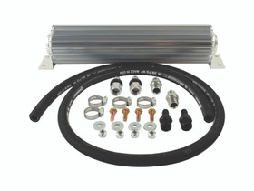 PSC MOTORSPORTS CK100-8 Heat Sink Fluid Cooler Kit with 8AN Fittings PSC Performance Steering Components