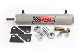 PSC MOTORSPORTS SC2201K Single Ended Steering Cylinder Kit, 1.75 Inch Bore X 8.0 Inch Stroke X 0.750 Inch Rod PSC Performance Steering Components