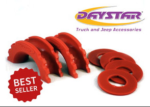 DAYSTAR KU70057RE D-RING ISOLATOR AND WASHERS RED