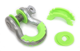 DAYSTAR KU70057FG D-Ring Isolator and Washers Fl. Green