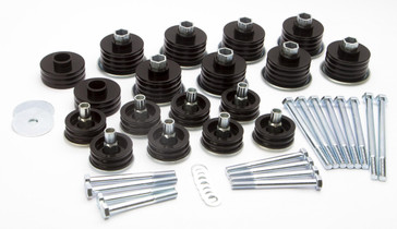 DAYSTAR KF04060BK Ford F-250,F-350 Body Bushings 08-16 Ford F-250 F-350 Steel Sleeves and Hardware Daystar