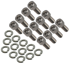 CPP EXHAUST MANIFOLD MOUNTING BOLTS WITH LOCK WASHERS (STAINLESS)