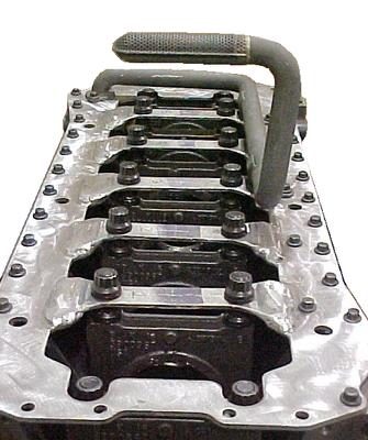 HAISLEY MACHINE HMR-L19-MAIN MAIN STUD KIT EXTRA LONG (97.5-UP CUMMINS)