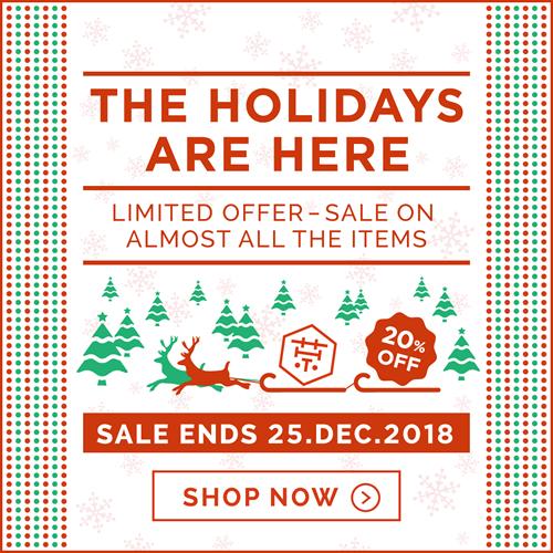 TOKYO MATCHA SELECTION - Holiday season sale campaign 2018 !