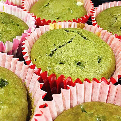 Matcha and White Chocolate Muffins - image 1