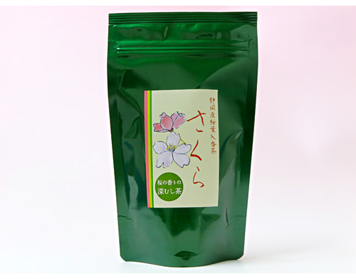 [Limited Season] SAKURA GreenTeabag 15pcs. w Japanese Cherry Blossom Petal Powder
