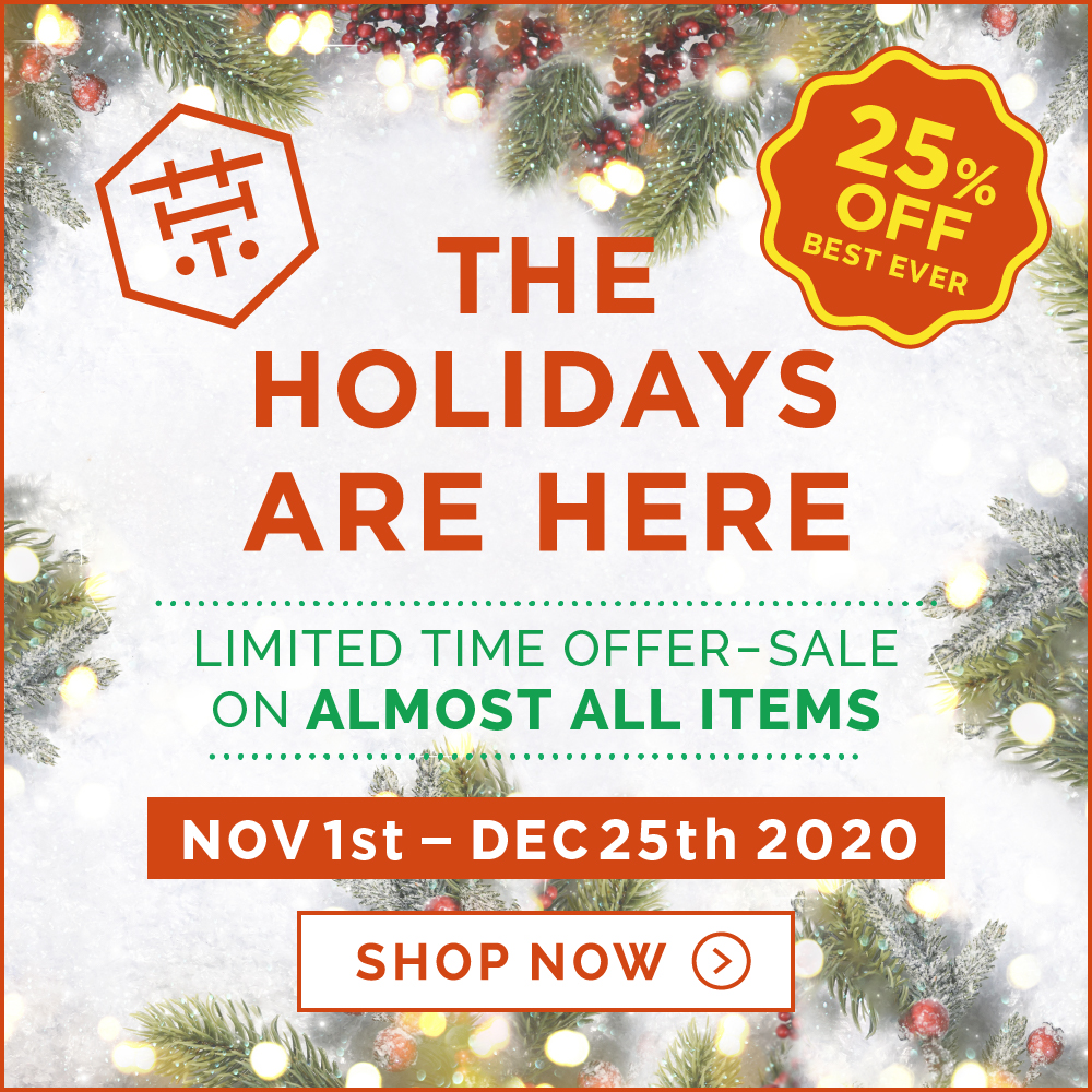 [25%OFF BEST EVER] Holiday season sale 2020