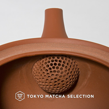Tokoname kyusu - ceramic tea strainer