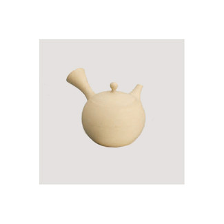 Tokoname kyusu - JINSUI (280cc/ml) ceramic Maruami - Japanese teapot