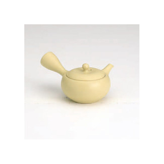 Tokoname kyusu - ICHIGO (130cc/ml) ceramic fine mesh - Japanese teapot