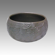 Glaze Ripple - Tokoname Pottery Tea Cup : chawan - Japanese casual ceramic - Item Image