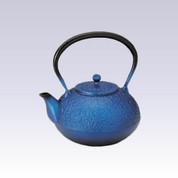 Nanbu Tetsubin : Lapis lazuli - 1.2 Liter - Japanese cast iron teapot kettle