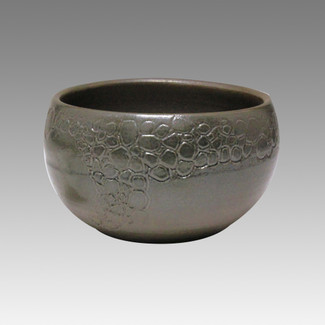 Glaze Foaming - Tokoname Pottery Tea Cup : 5chawan - Japanese casual ceramic - Item Image
