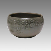 Glaze Foaming - Tokoname Pottery Tea Cup : 5chawan - Japanese casual ceramic - Item Image