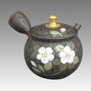 Tokoname Kyusu teapot - SHORYU - Camellia 220cc/ml - ceramic fine mesh - Item Image