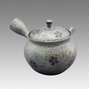Tokoname Kyusu teapot - SHORYU - Without SAKURA 100cc/ml - ceramic fine mesh - Item Image
