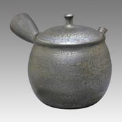 Tokoname Kyusu teapot - SHORYU - Black 340cc/ml - ceramic fine mesh - Item Image