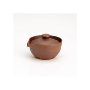 Kiyomizu-yaki Hohin kyusu - Yakishime (150cc/ml) Japanese pottery ceramic teapot