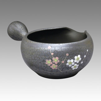 Tokoname Yuzamashi Big - Plum - 230ml/cc - Cooling Bowl - Item Image