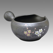 Tokoname Yuzamashi Small - Plum - 170ml/cc - Cooling Bowl - Item Image