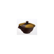 Hohin teapot - SOZAN (140cc/ml) Brown - ceramic mesh